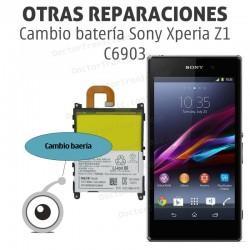Cambio batería Sony Xperia Z1 C6903
