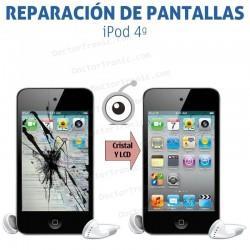 Cambio pantalla completa iPod 4G