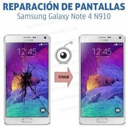 Cambio cristal Galaxy Note 4 N910