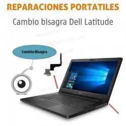 Reparación cambio bisagra portátil Dell Latitude e5530