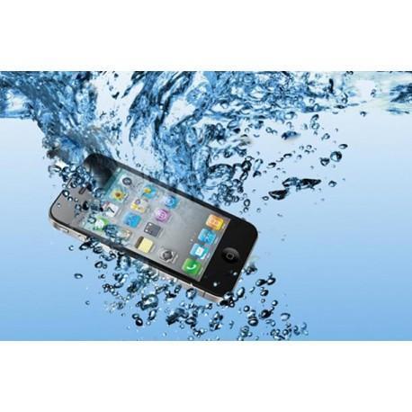 iPhone mojado