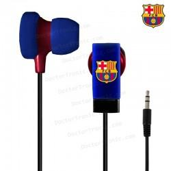 Auriculares Stereo Jack 3,5mm Licencia Fútbol F.C. Barcelona