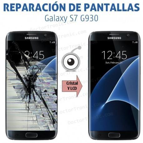 Reparación pantalla completa Samsung S7 G930