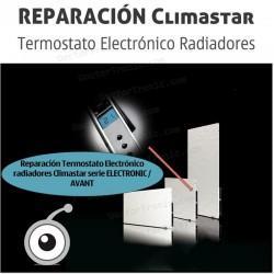 Reparación Termostato Electrónico radiadores Climastar serie ELECTRONIC / AVANT