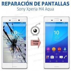 Cambio pantalla completa Sony Xperia M4 Aqua