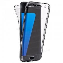 Funda Silicona 3D Samsung G935 Galaxy S7 Edge (Transparente Frontal + Trasera)