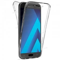 Funda Silicona 3D Samsung A520 Galaxy A5 (2017) (Transparente Frontal + Trasera)