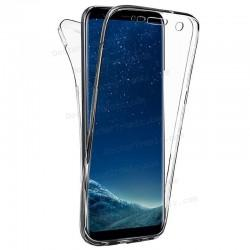 Funda Silicona 3D Samsung G955 Galaxy S8 Plus (Transparente Frontal + Trasera)