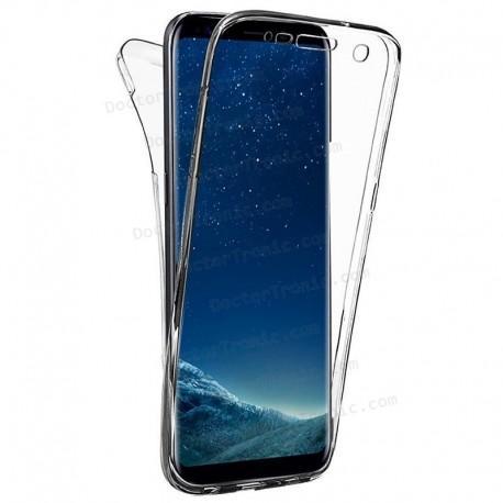 7467c968cc6 Funda Silicona 3D Samsung G955 Galaxy S8 Plus (Transparente Frontal +  Trasera)