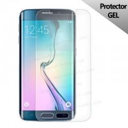 Protector Pantalla Silicona Samsung G925F Galaxy S6 Edge (Gel Curvo)