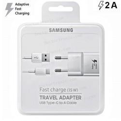 Cargador Red Original Samsung (USB 3.1 TIPO C) 2Amp Blanco Carga Rápida