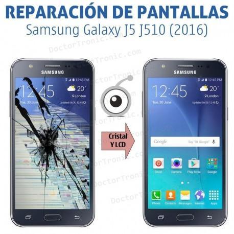 Cambio pantalla completa Samsung Galaxy J5 J510 (2016)