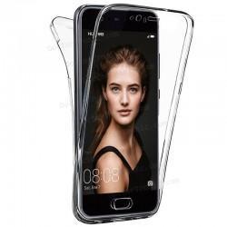 Funda Silicona 3D Huawei P10 Lite (Transparente Frontal + Trasera)