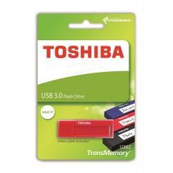 Pen Drive USB x16GB Toshiba Daichi USB 3.0 Rojo