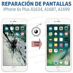 Reparación Pantalla iPhone 6s Plus A1634, A1687, A1699