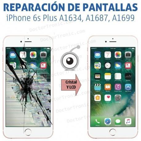 Reparación Pantalla iPhone 6s Plus A1634, A1687, A1699