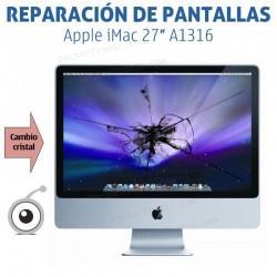 Cambio cristal Cristal Frontal Apple iMac 27″ A1316