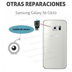 Cambio cámara y lente Samsung Galaxy S6 G920