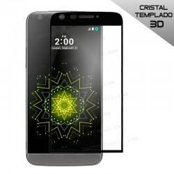 Protector Pantalla Cristal Templado LG G5 (3D Negro)