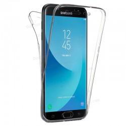 Funda Silicona 3D Samsung J730 Galaxy J7 (2017) (Transparente Frontal + Trasera)