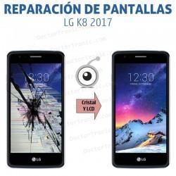 Reparación pantalla LG K8 2017