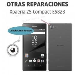 Cambio cámara Sony Xpaeria Z5 Compact E5823