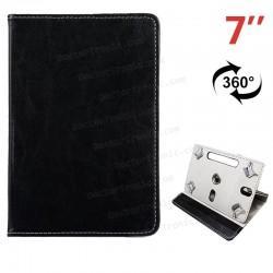 Funda Ebook / Tablet 7 Pulg Polipiel Negro Giratoria (colores)