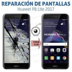 Cambio pantalla Huawei P8 Lite (2017)