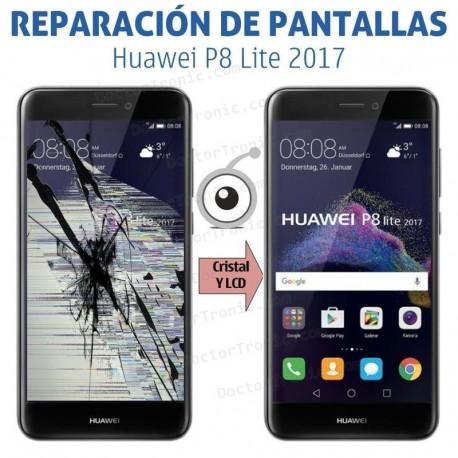 Cambio pantalla Huawei P8 Lite 2017