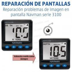 Reparación problemas de pantalla Navman serie 3100