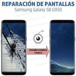 Reparación pantalla completa Samsung S8 G950