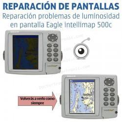 Reparación problemas de pantalla Eagle intellimap 500c/502c