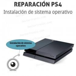 Instalación de sistema operativo PS4