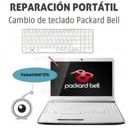 Cambio teclado Packard Bell TJ76