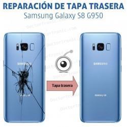 Cambio tapa trasera Samsung Galaxy S8