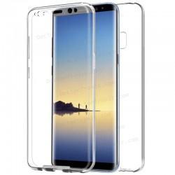 Funda Silicona 3D Samsung N950 Galaxy Note 8 (Transparente Frontal + Trasera)