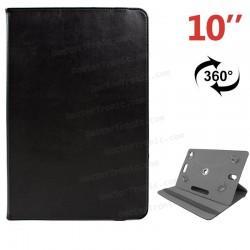Funda Ebook Tablet 10 Pulgadas Polipiel Giratoria Negro Panorámica (colores)