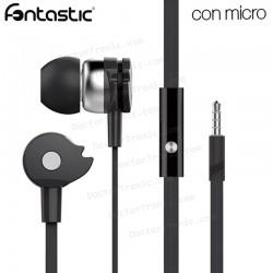Auriculares Stereo Jack 3,5mm Fontastic Essential