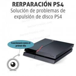 Solución de problemas de expulsión de disco PS4