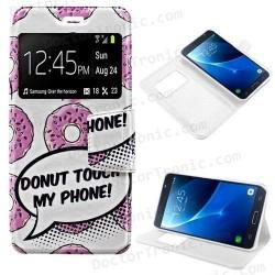 Funda Flip Cover Samsung J710 Galaxy J7 (Fantasia)