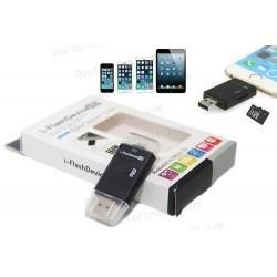 Lector Tarjetas de Memoria Micro SD/TF Para el iPhone