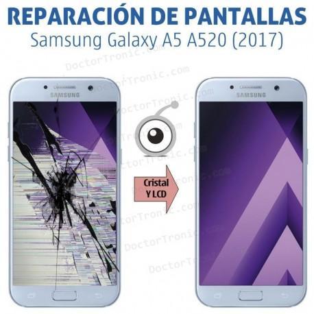 Cambio pantalla completa Samsung Galaxy A5 A520 (2017)