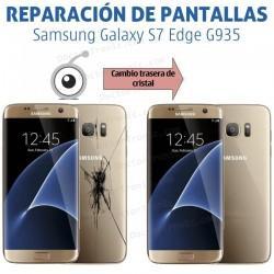 Reparación cristal trasero Samsung S7 Edge G935
