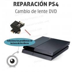 Reparación cambio de lente DVD PS4