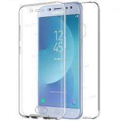 Funda Silicona 3D Samsung J530 Galaxy J5 (2017) (Transparente Frontal + Trasera)