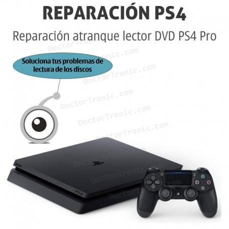 Reparación atranque lector DVD PS4 Pro
