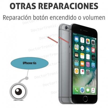 Reparación iPhone 6s botón encendido o volumen