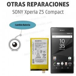 Cambio de batería Sony Xpaeria Z5 Compact E5823