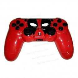 Mando PS4 personalizado Deadpool