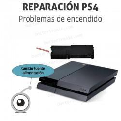Reparación PS4 problemas de encendido